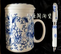 尚源阁-专业制作陶瓷礼品