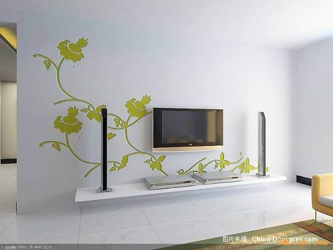 上海室内家装墙体彩绘 专业手绘墙 上海火狐艺术