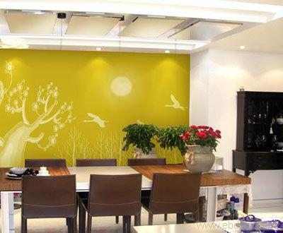 员工休息室手绘墙