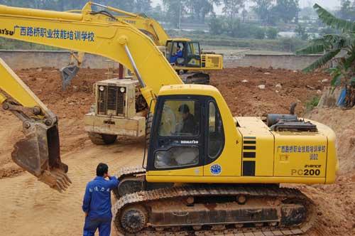 温州挖掘机培训