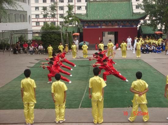 麻章区少林学校_泉州南少林武术学校迈向国际化