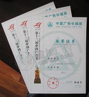 第十三届中国广告节长城奖