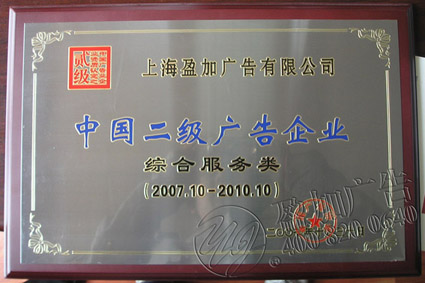 中国二级广告企业