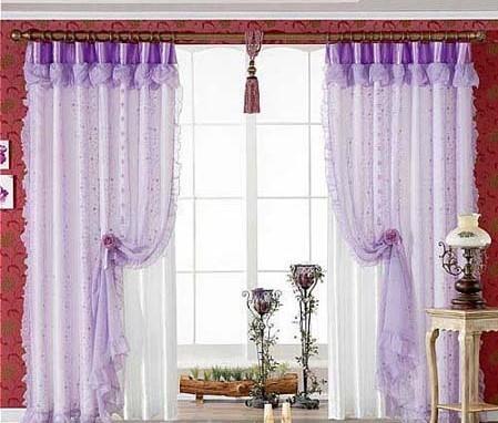 窗帘杆的安装和窗帘布的测量与计算