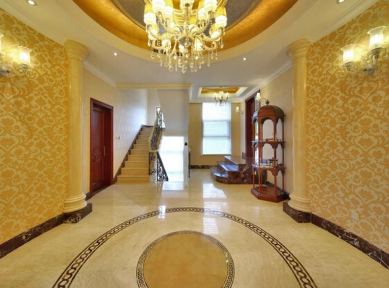 上海别墅装修设计现代欧式风格