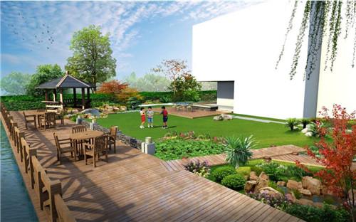 上海戶外綠化設計_別墅景觀設計的延續.