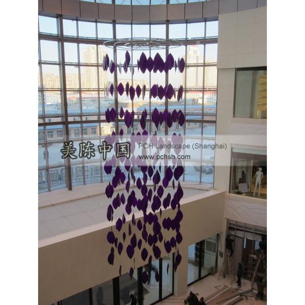 上海商场墙面装饰_上海商场周年庆装饰图片