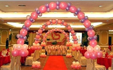 会场气球布置设计 上海庆典会场气球布置