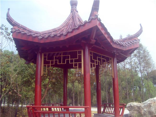 找上海防腐木景观工程/上海园林设计/上海碳化桂园别墅楼盘淄博碧图片