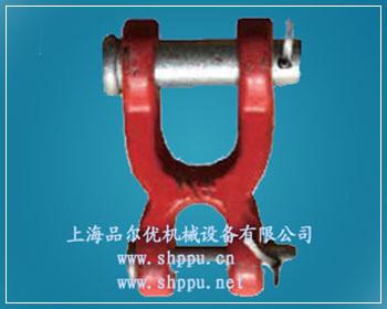 双头羊角扣   材质采用优质合金结构钢.   吊环锻制而成.