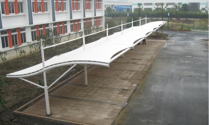 找上海北雨遮阳篷—车棚|伸缩遮阳蓬|膜结构车棚|固定