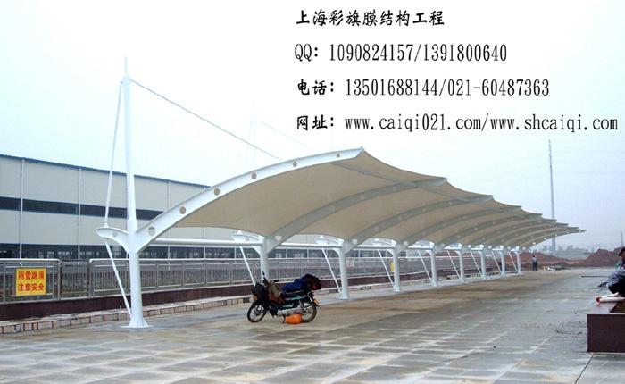 上海雨智膜结构公司-上海膜结构蓬 > 产品信息   彩旗膜结构拥有先进