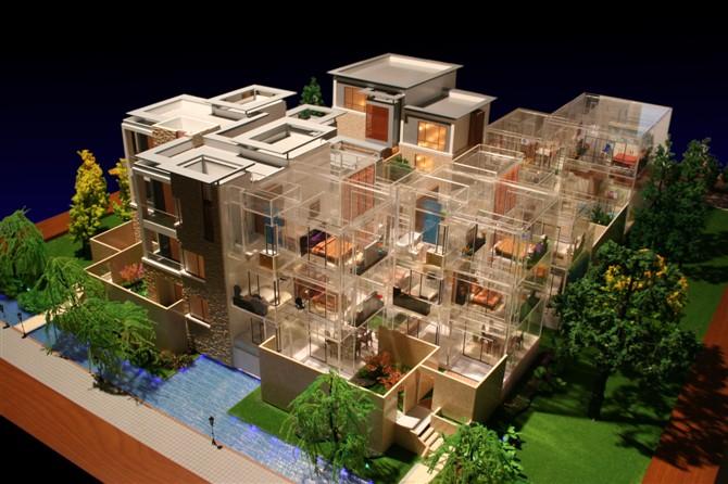 别墅模型制作公司-上海建筑模型制作要点