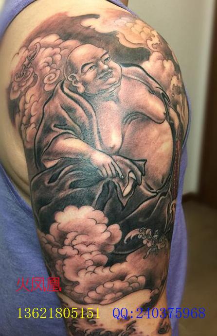 弥勒佛纹身图案大全