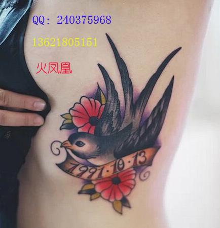 小燕纹身图案大全|小燕子纹身图片大全