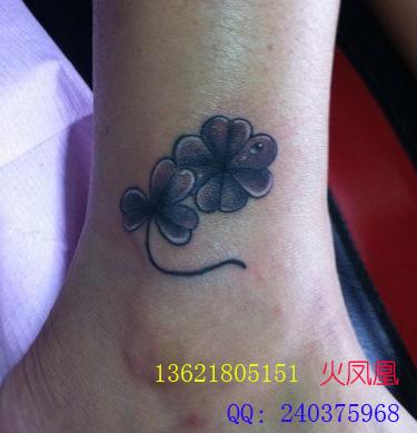 love手指头纹身图案分享展示