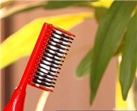 上海邦维丝染发梳焗油染发一次完成健康一梳黑自然黑发染发梳厂家直供包邮