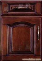 整体橱柜实木门板巴西花梨木33001  戴王橱柜