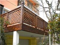 上海 防腐木 围栏