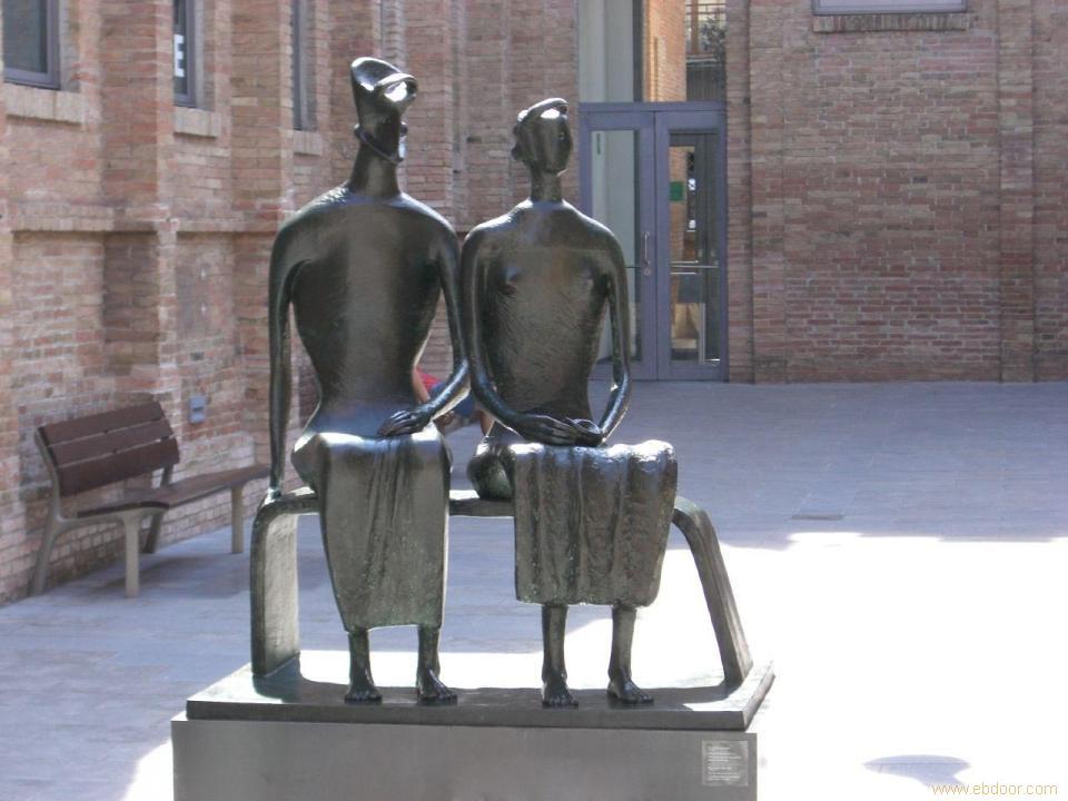 城市雕塑/上海铜雕/上海人物铜雕