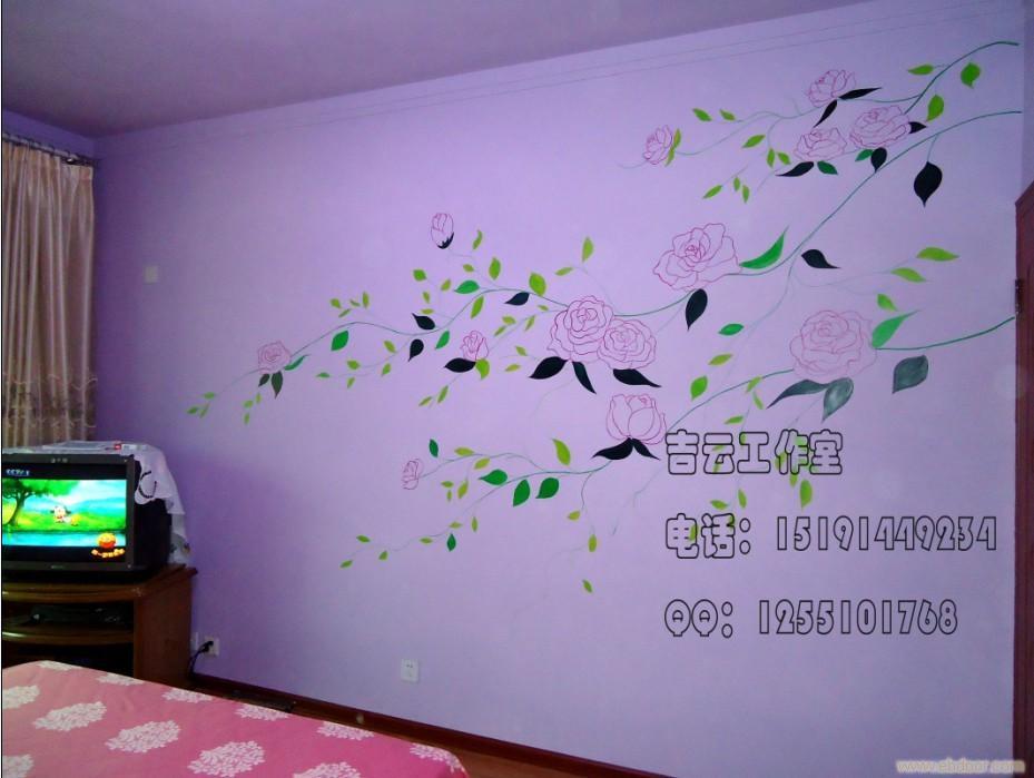 【手绘墙】西安手绘墙公司
