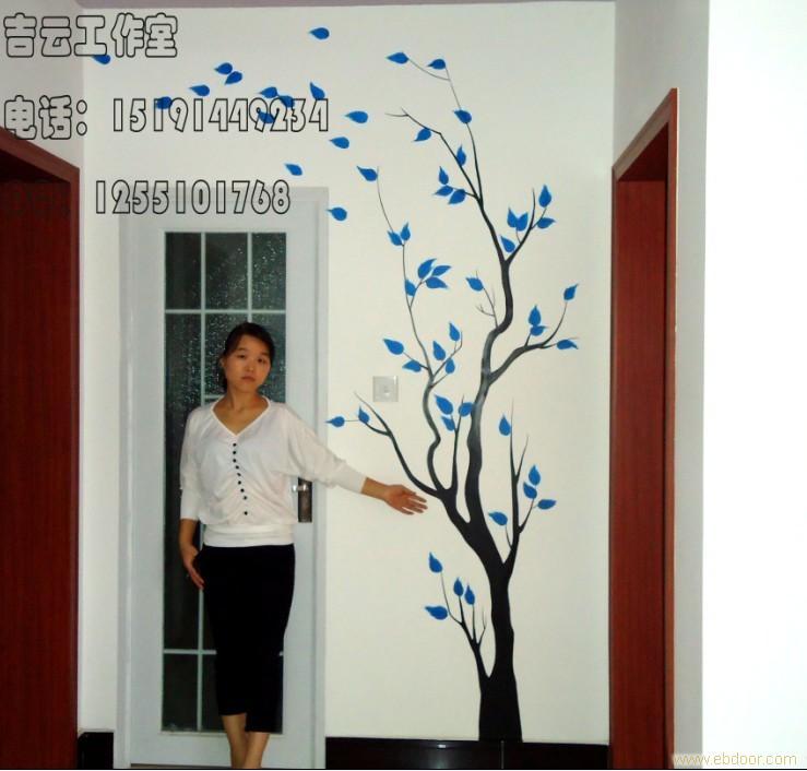 【手绘墙】西安手绘墙哪家好