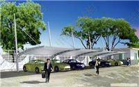 徐州膜结构,--徐州市新沂多晶硅电池厂车棚