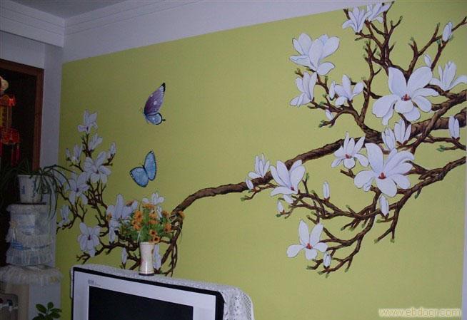 【西安手绘墙招聘】您家是中式风格