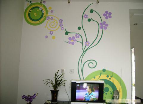 西安手绘墙-西安手绘墙饰-西安手绘墙画-西安墙体彩绘-西安手绘-西安
