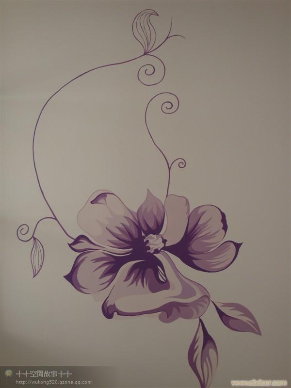 西安时尚手绘墙画