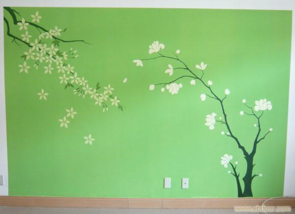 手绘墙设计技术的手绘艺术创作团队,设计师和画师毕业于中国美术学院