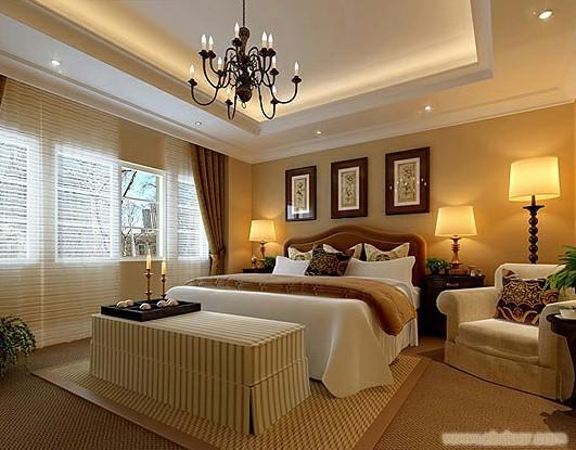 上海卧室装潢装修设计-上海别墅卧室装潢设计