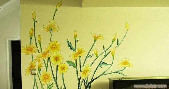 手绘墙画公司