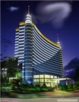 中国建筑楼体亮化工程效果图;上海照明工程公司;上海led照明工程