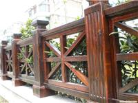 上海防腐木/浦东防腐木工程/防腐木围栏