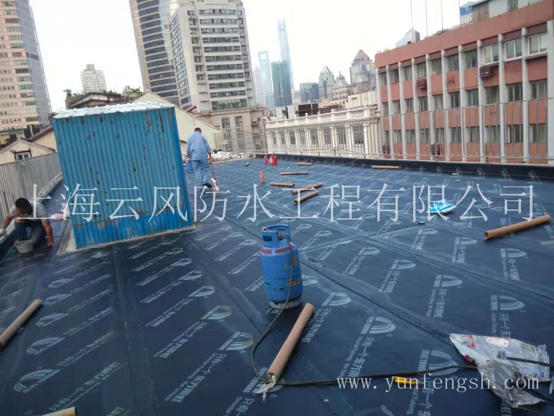 上海屋面防水施工案例