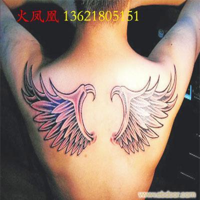 翅膀纹身图片2