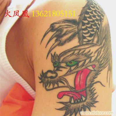 手臂龙头纹身-上海专业纹身