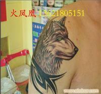 狼头纹身图片2