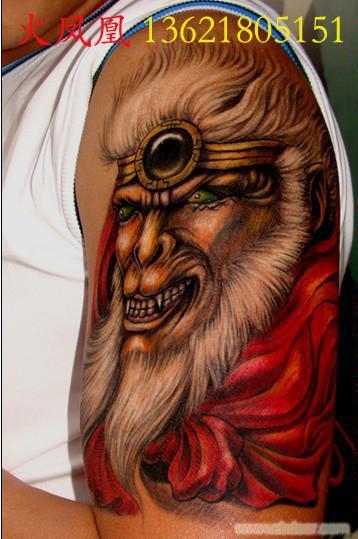 人物头像纹身图片图片
