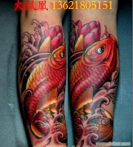 锦鲤纹身图片6