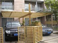 防腐木车棚,防腐木花架、葡萄架、车架