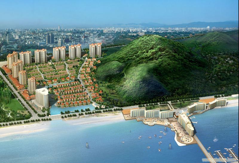 海景房-曦岛楼盘项目介绍  项目篇海阳市方圆120公里有烟台,威海,青岛