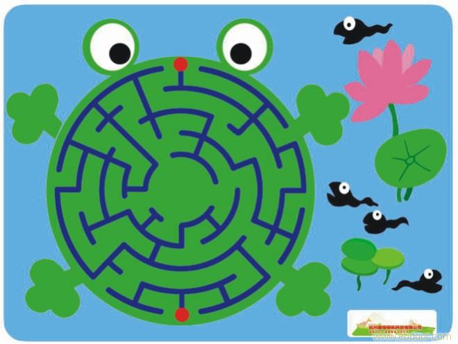 青蛙儿童画步骤