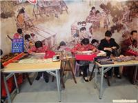 上海城隍庙民间艺人 刺绣