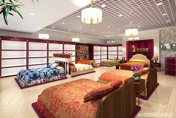 上海家纺专卖店设计公司
