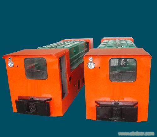 12吨蓄电池式电机车