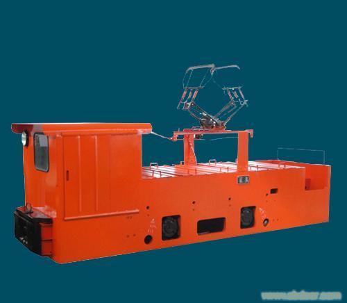 10吨架线式电机车