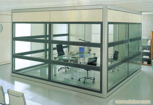 上海固定玻璃隔断 活动隔断 上海移动隔断