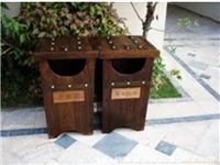 上海防腐木垃圾桶